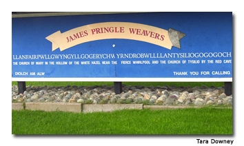 The town's name holds a record in the Guinness Book of World Records.